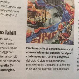 articolo giornale dell'arte